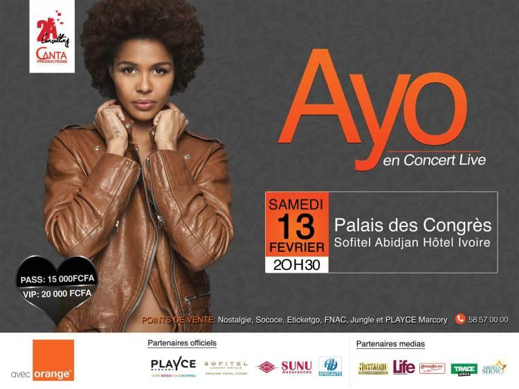 Ayo à Abidjan