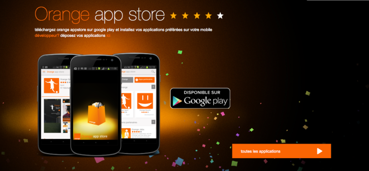Orange Appstore Côte d'Ivoire Application