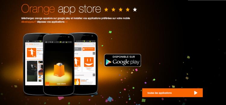Orange Appstore Côte d'Ivoire Application
