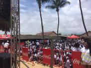 """Opération """"Ma Plage, Mon Pays"""" avec l'ambassade des USA, Coca-Cola, Bassam, Côte d'Ivoire"""