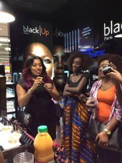 vous l'avez rêvé, black up l'a fait, kaleidoscopedemoi, bamba aida, make up, Abidjan, Black Up, Carrefour