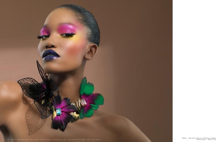 5 indispensables de la marque de cosmétiques Black Up, kaleidoscopedemoi, Bamba Aida