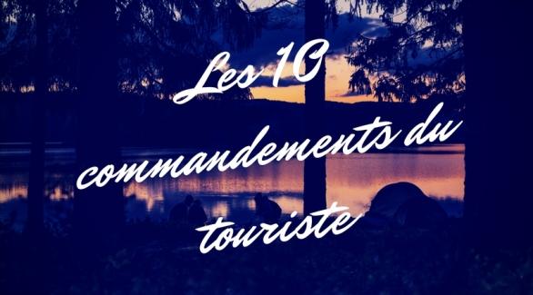 les-10-commandements-du-touriste